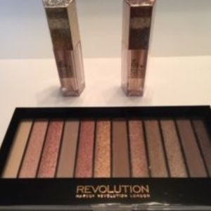 Revolution Three-Piece Makeup Set
